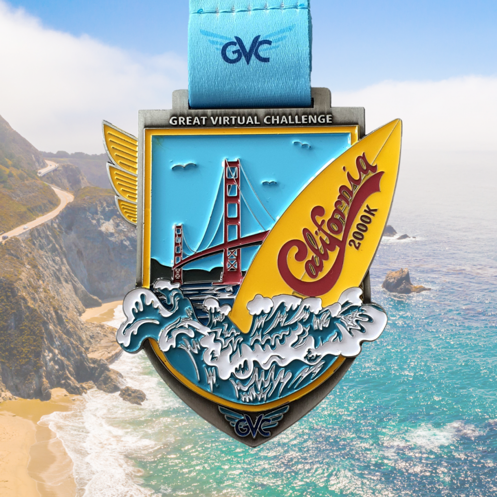 Medaille California Challenge